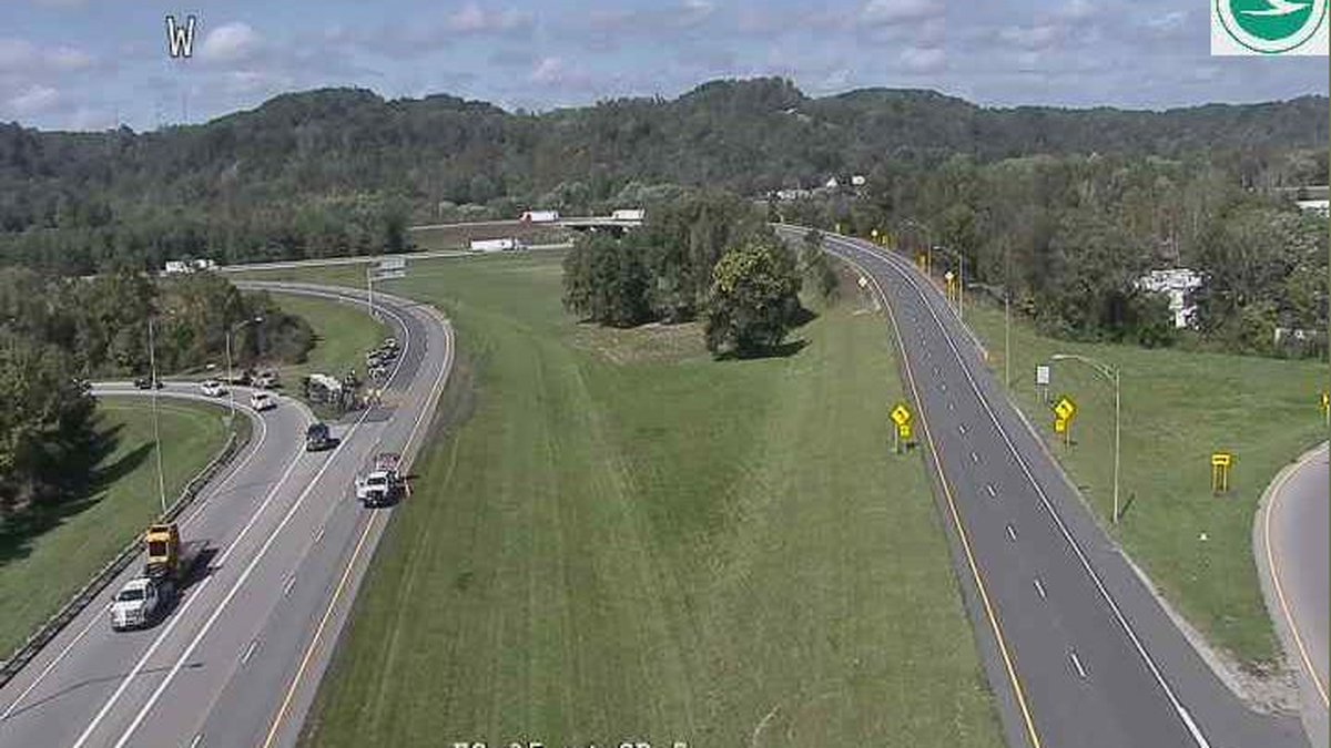 The crash was reported Wednesday near the Silver Memorial Bridge ramp, just past SR 160 in...