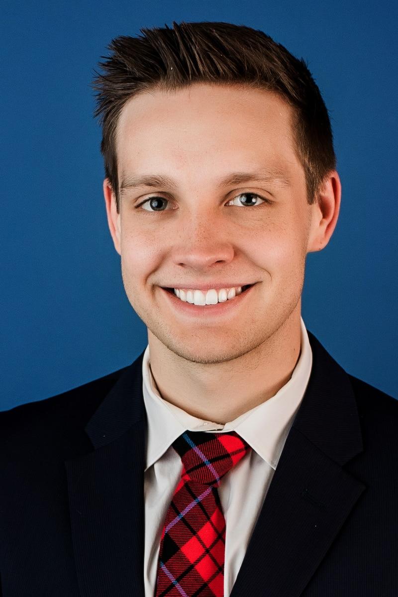 Headshot of Drew Narsutis, Meteorologist
