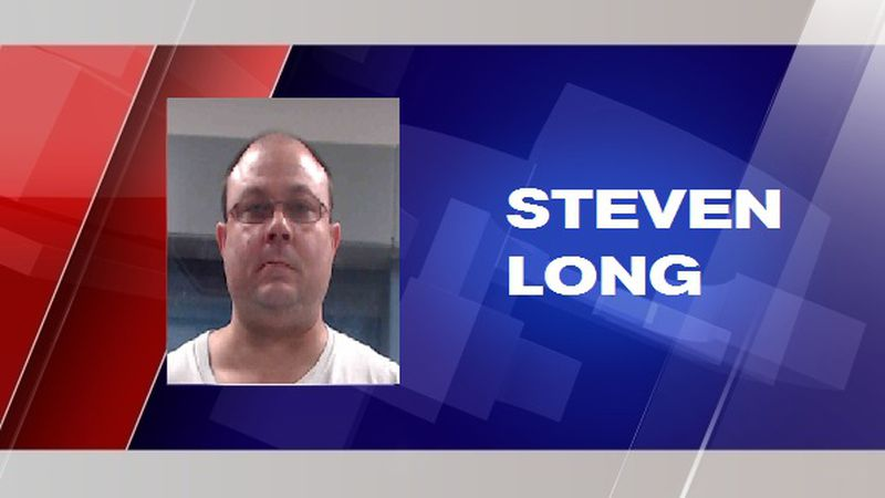 Steven Long was arrested Thursday after an investigation that was initiated Wednesday by WVSP.
