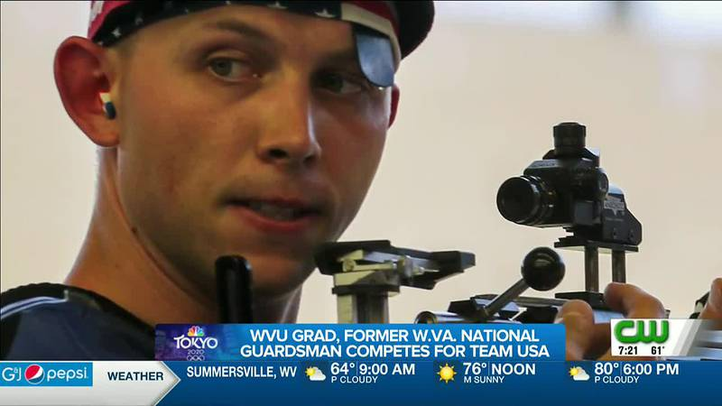 TEAM USA OLYMPIAN SHARPENED HIS SKILLS WHILE LIVING IN WEST VIRGINIA