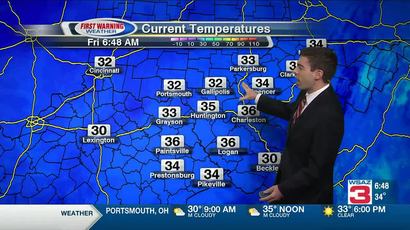 WSAZ Friday Morning Forecast - Jan 22
