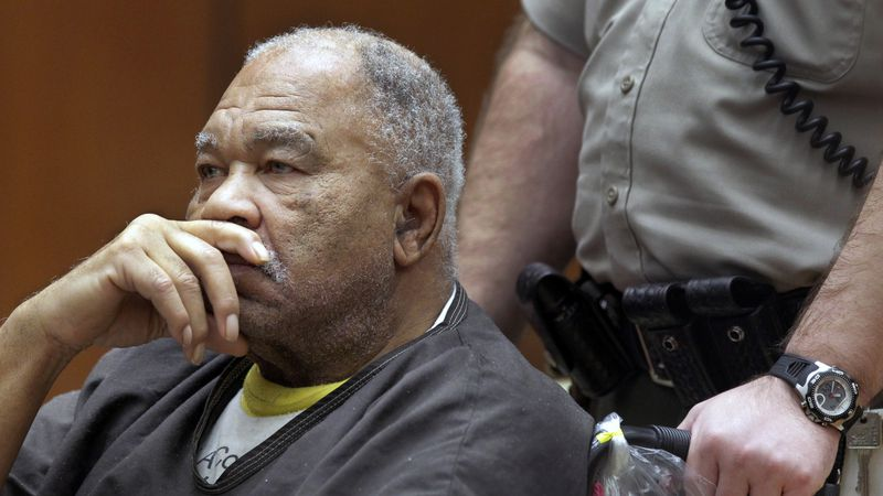 In this March 4, 2013, file photo, Samuel Little appears at Superior Court in Los Angeles....