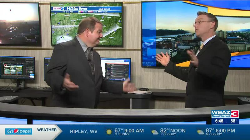 Brandon Butcher Delivers the First Warning Forecast for Friday, June 18th, 2021.