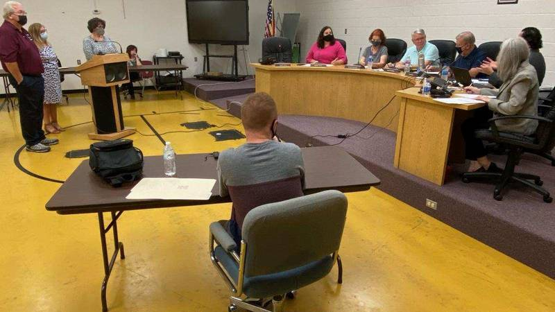 The Mingo County Board of Education on Monday evening voted to require masks at schools.