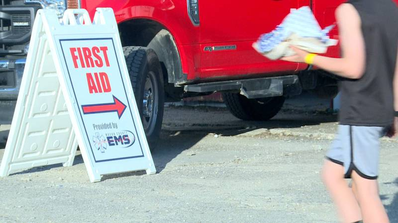 On Wednesday, five people at the fair suffered from heat exhaustion, according to Mason County...