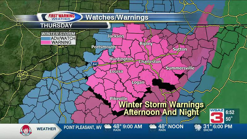 Brandon Butcher Delivers the First Warning Forecast for Thursday, December 24th, 2020.