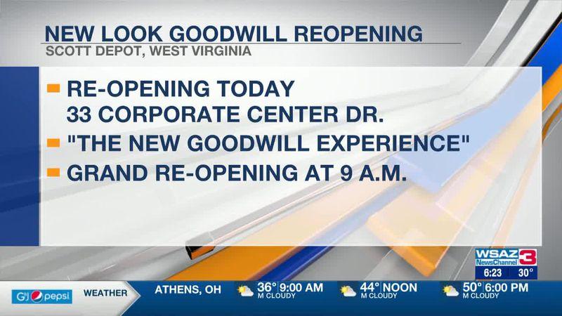 "New ""Goodwill Experience"" in Scott Depot"