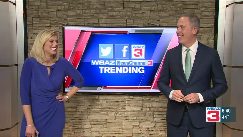 During Monday's 5 p.m. Newscast.
