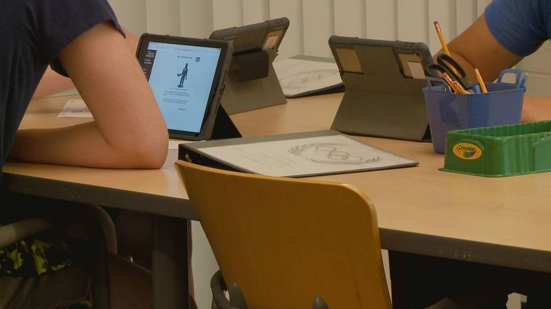 Students participate in Milton Middle School's summer learning program to ensure they don't...