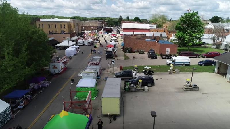 The Wild Turkey Festival takes over Main Street in McArthur on Friday.