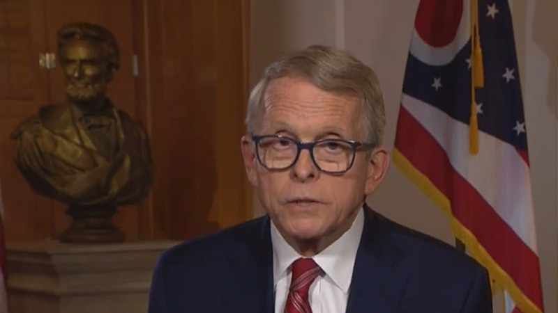 Gov. Mike DeWine announces that Ohio will end most COVID health orders on June 2.