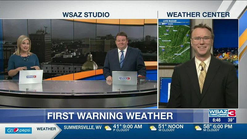 Brandon Butcher Delivers the First Warning Forecast for Thursday, May 6th, 2021.