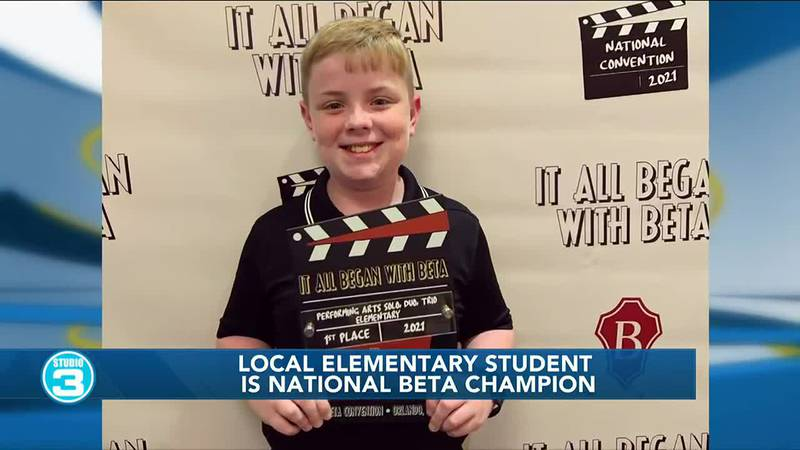 Local elementary school student wins National Beta Club Convention