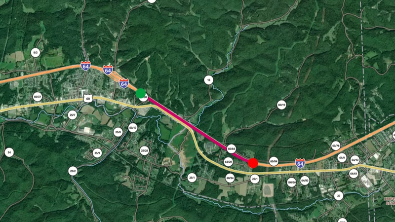 Both the eastbound and westbound lanes of I-64 will be impacted by planned deck repairs in...