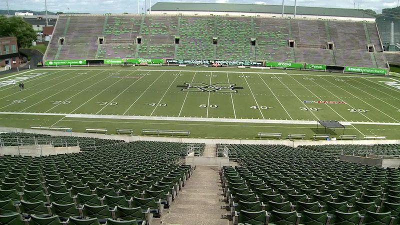 Marshall's Joan Edwards stadium plays host to UMass Minutemen on Saturday
