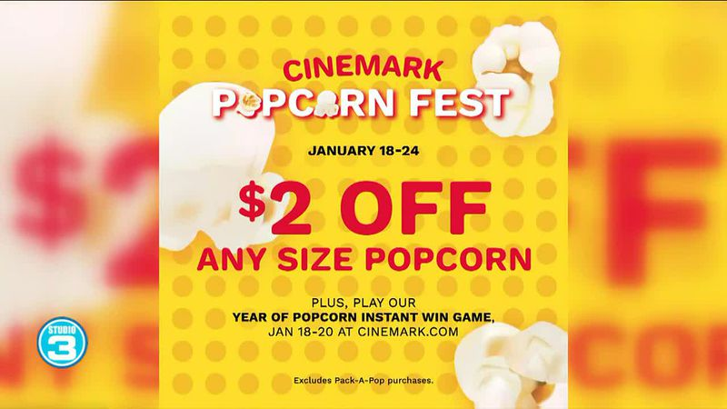 National Popcorn Day with Cinemark