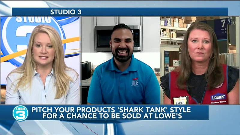 Pitch your products to Lowe's 'Shark Tank' Style