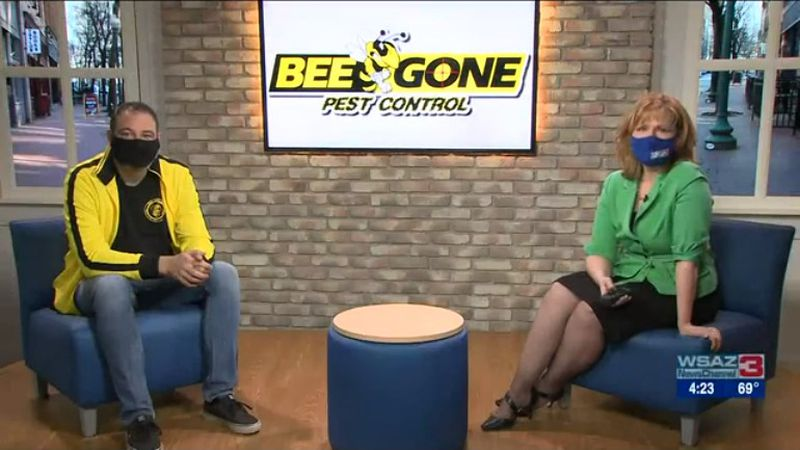 Mark Defoe, Owner of Bee Gone Pest Control, shares what they can do to keep your home pest free...