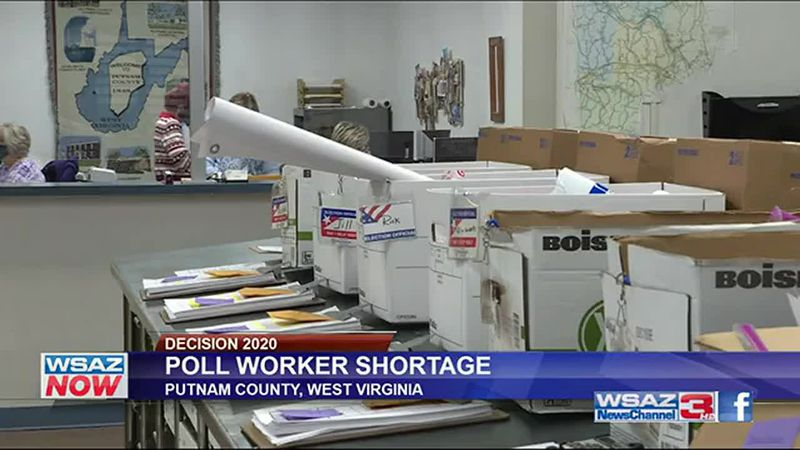Putnam County in particular is facing a great need for poll workers just days before Election...