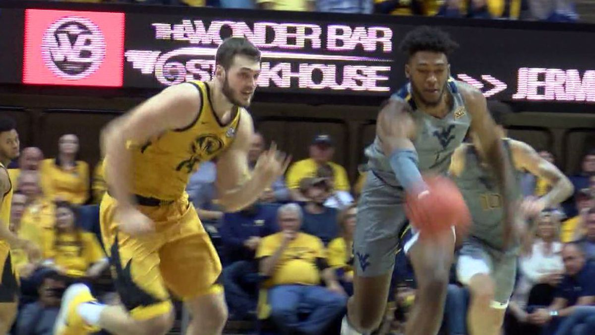 WVU Clobbers Missouri With Big 2nd Half