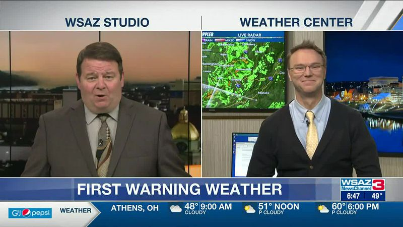 Brandon Butcher Delivers the First Warning Forecast for Friday, May 7th, 2021.
