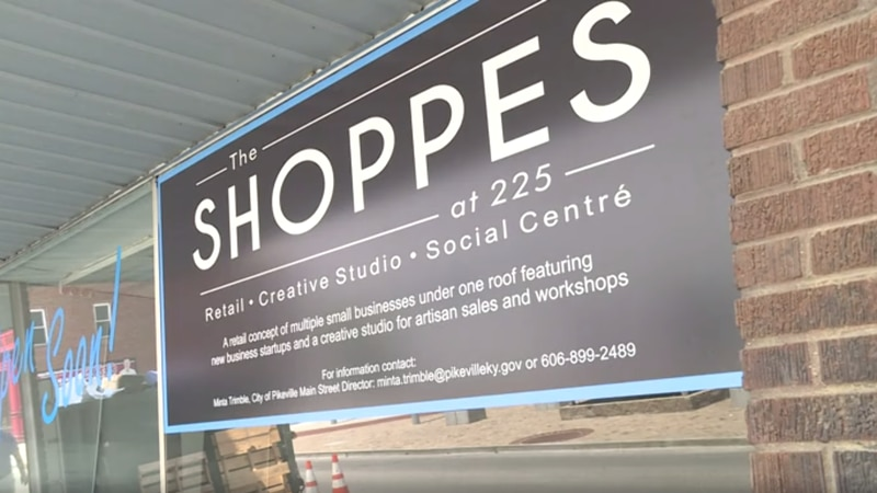 The Shoppes at 225 are set to open this August.