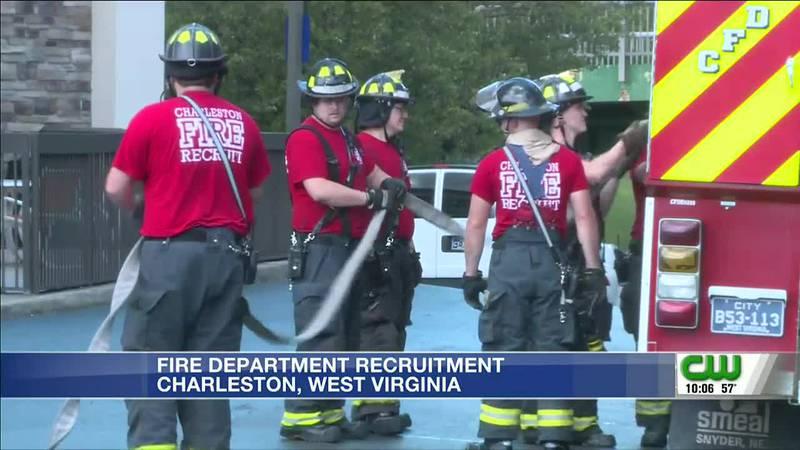 Recruitment for Charleston Fire Dept opens