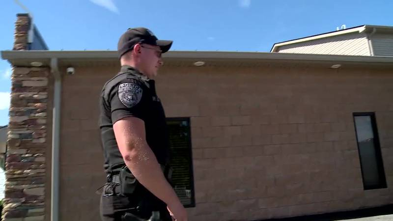 Officer Winston Lloyd says five children were in the home when the bust was made, and uncapped...