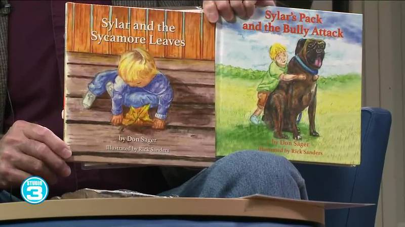 Local author talks Sylar and the Sycamore Leaves