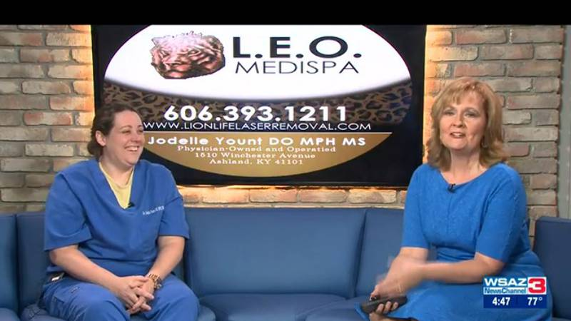 Dr. Jodelle Yount also has treatments that will have you really confident when you put on those...