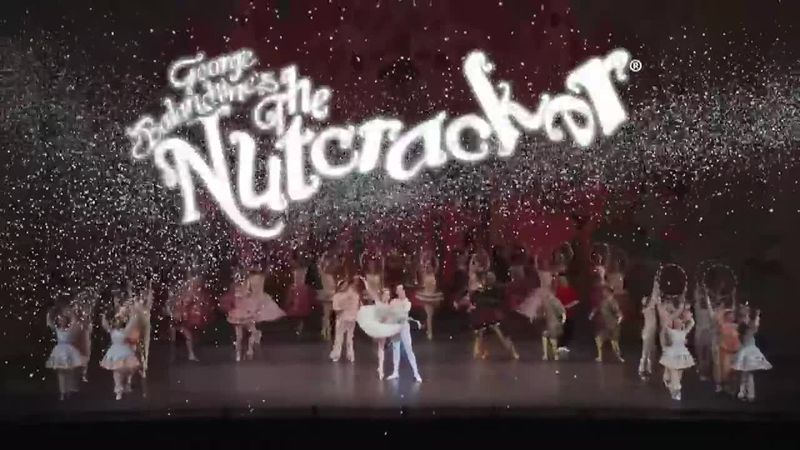 """George Balanchine's """"The Nutcracker"""" premiered in February 1954 and has been performed live by..."""