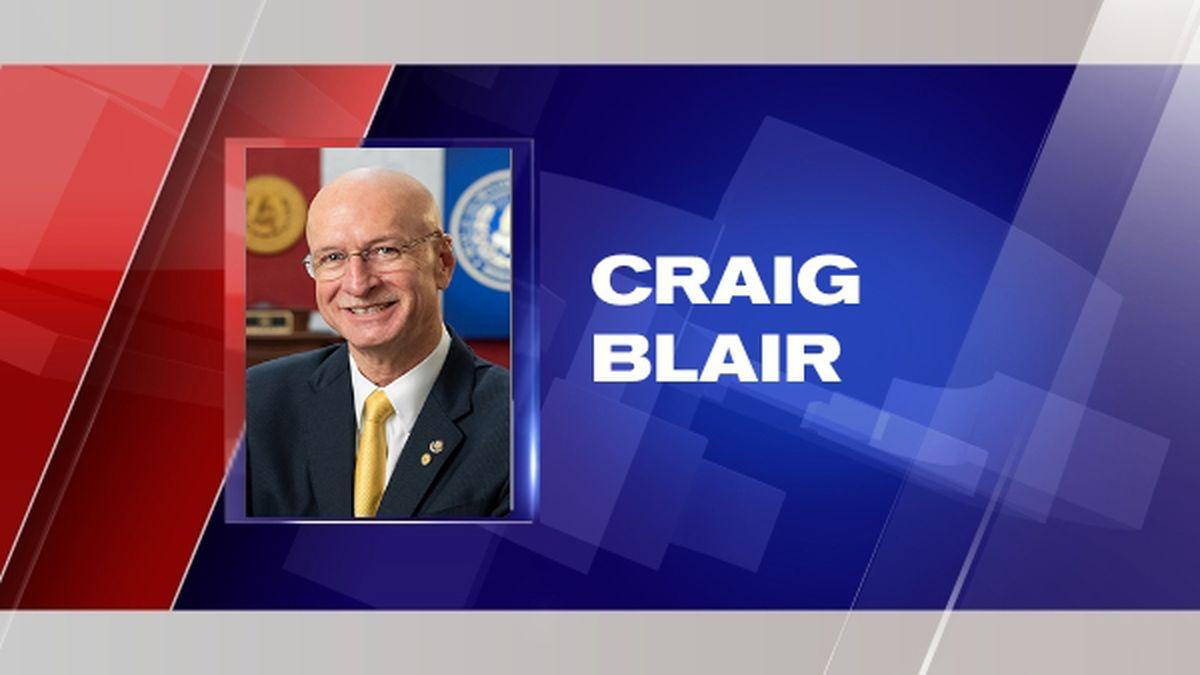 Craig Blair was elected President of the W.Va. State Senate.