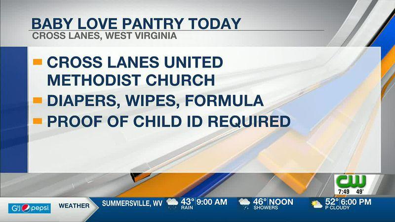 Cross Lanes United Methodist Church offers baby love pantry
