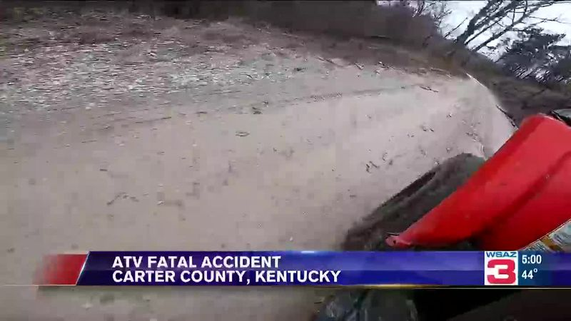 Carter County Sheriff Jeff May says it happened along Church Ridge road near Grahn, Kentucky.