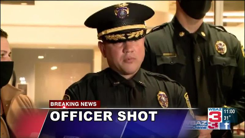 Charleston Police Officer Cassie Johnson was shot Tuesday while responding to a parking...