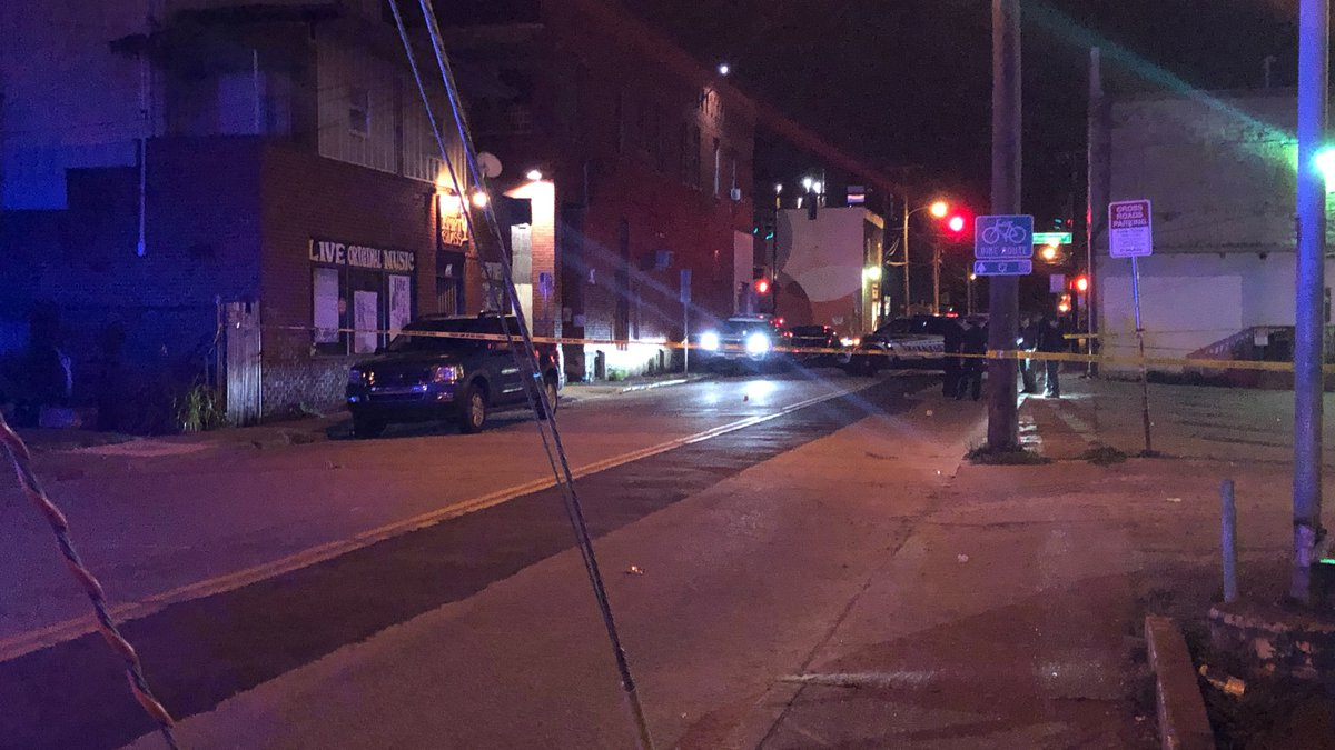 One person was injured after being shot early Friday morning.