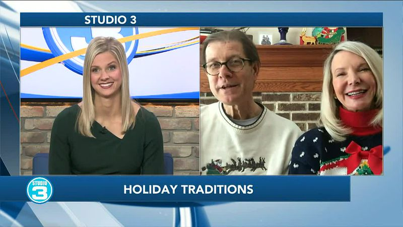 Katie talks holiday traditions with parents