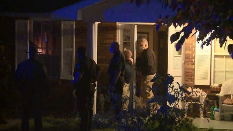 The Kanawha County Sheriff's office is investigating a shooting between two men.