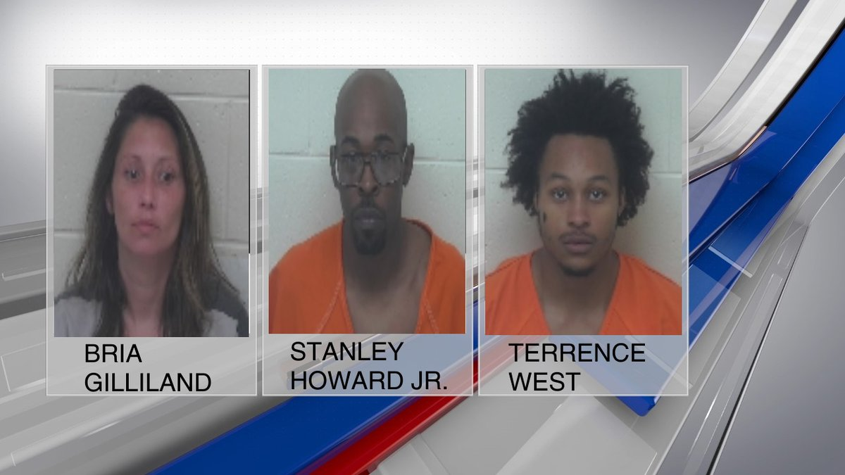 Three people were arrested Tuesday in Portsmouth after a drug bust that turned up crack...