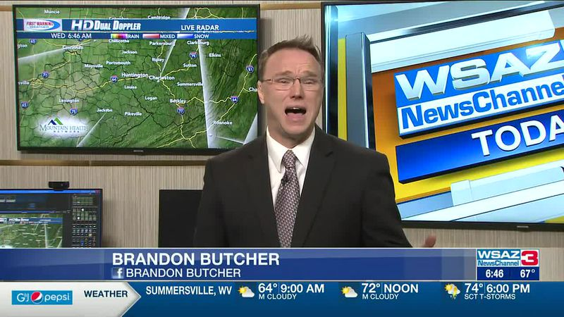 Brandon Butcher Delivers the First Warning Forecast for Wednesday, April 28th, 2021.