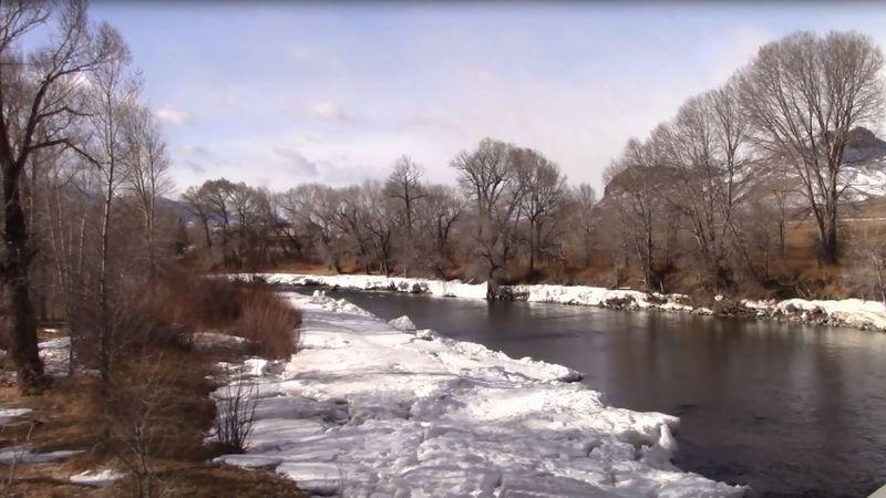 the winter thaw rolls on across the region.