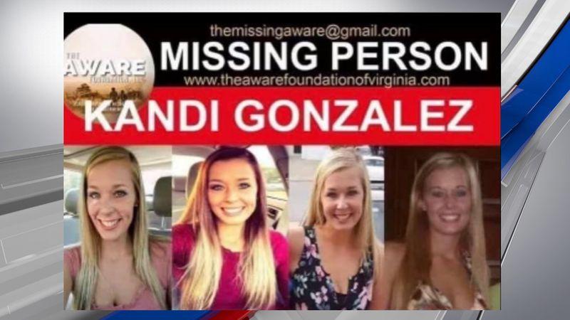 Kandi Gonzalez was last seen in the Abbott Creek Road area in Prestonsburg, Kentucky.