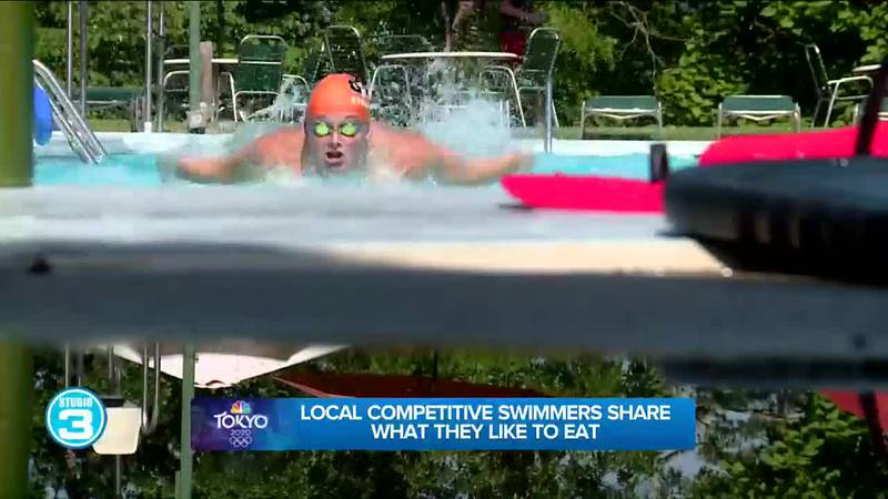 Competitive swimmers share what they eat