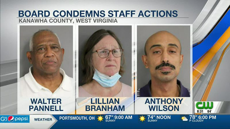Kanawha County Board of Education releases statement condemning actions of three employees...