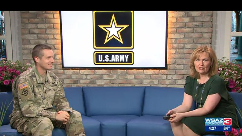 Captain Ryan Miller from the U.S. Army Recruiting Center in Huntington shares all the amazing...