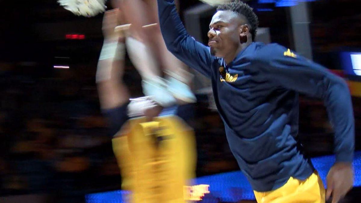 Kansas Sweeps WVU In Hoops