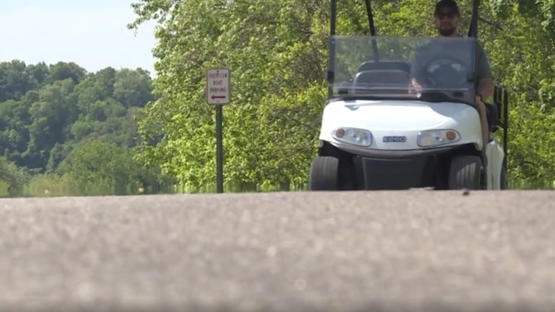 Syracuse, Ohio passed a village ordinance to allow golf carts on village streets.