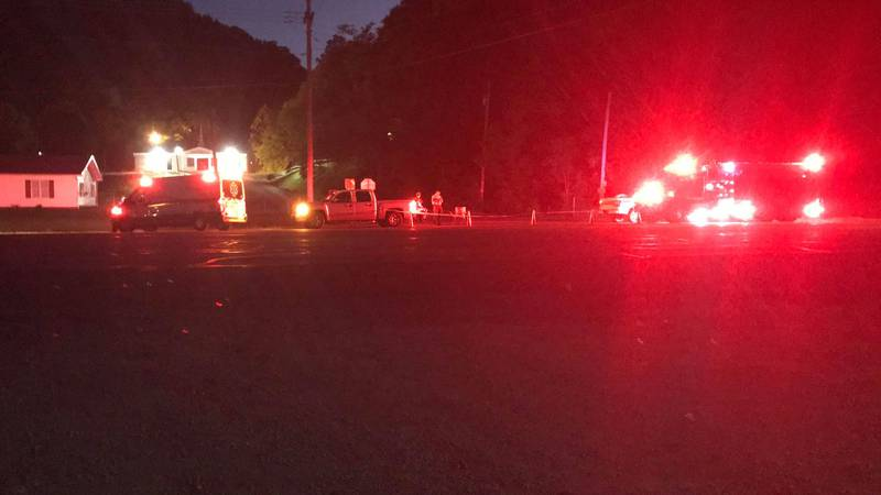 Greenup County 911 dispatch confirms a report of a possible bomb found at a property was being...