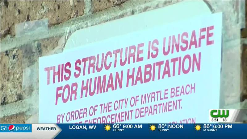 POPULAR MYRTLE BEACH MOTEL DEEMED UNSAFE; RESIDENTS FORCED TO LEAVE