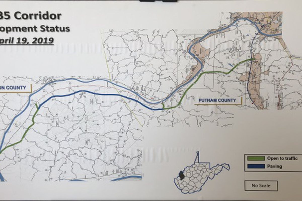 Us 35 Construction West Virginia Map W.Va. officials: $51 million U.S. 35 project to be completed next year